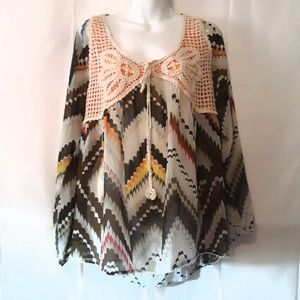 {Umgee} Fall Boho Top